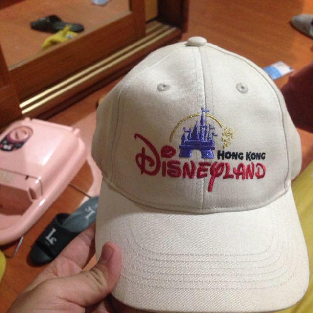 香港 迪士尼 老帽 Disney Disneyland 素色 黑