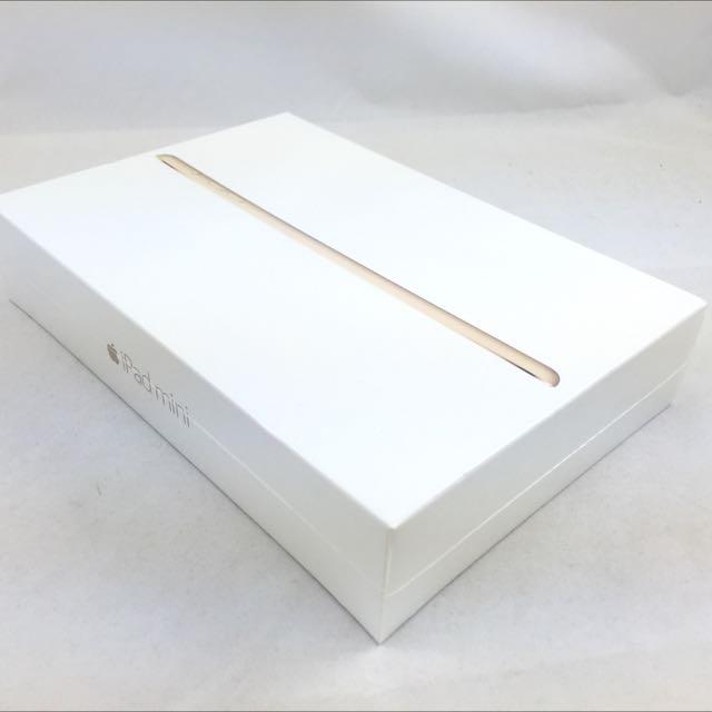 全新未拆封 ipad mini 3 wifi 64g Retina 金