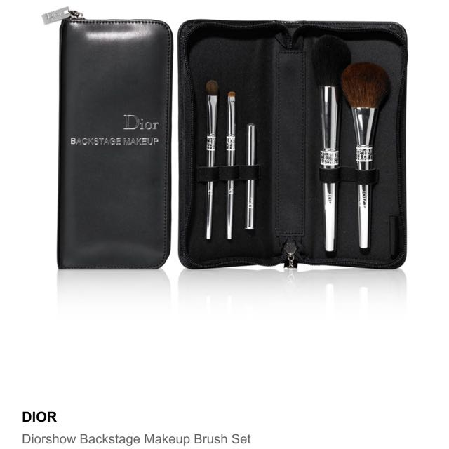 b2899352 Authentic Christian Dior Backstage Makeup Brush Set