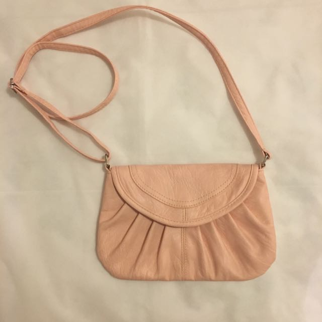 Baby Pink Crossbody Bag