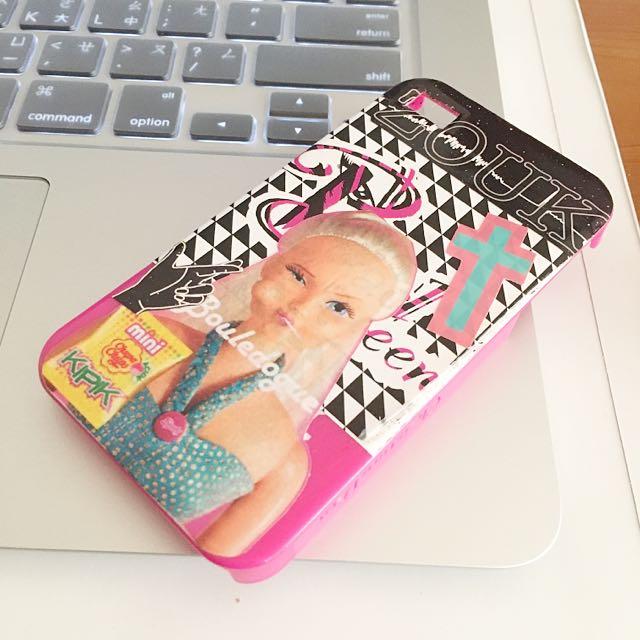 Barbie 4s手機殼
