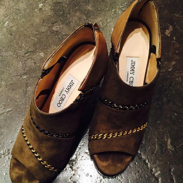 Jimmy Choo踝靴