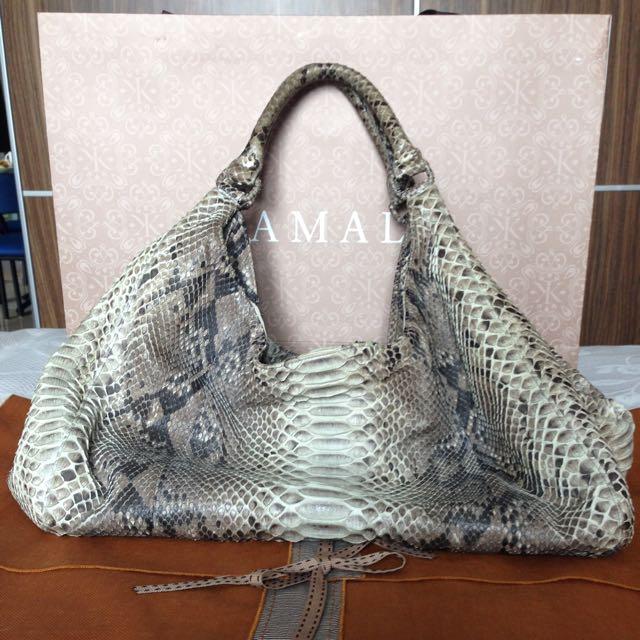 Kamali Snakeskin Bag
