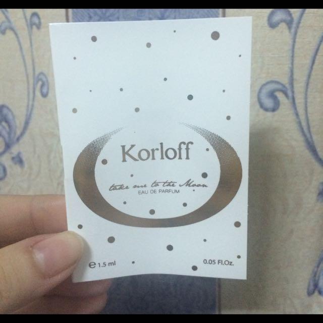 Korloff 漫步月球女性淡香精 1.5ml