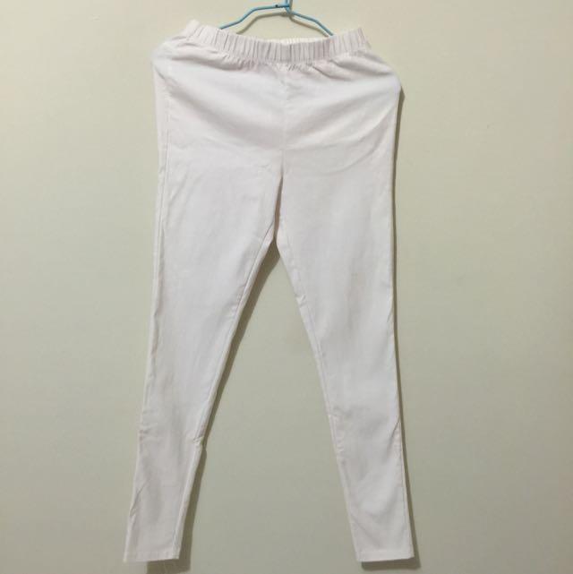 Lativ白色褲