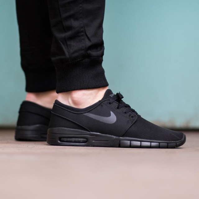 Nike Janoski Max - All Black 48b4fdffd