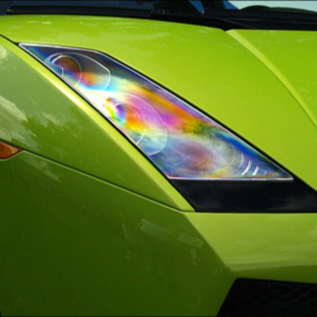 Rainbow Headlight Tint Film Car Accessories On Carousell