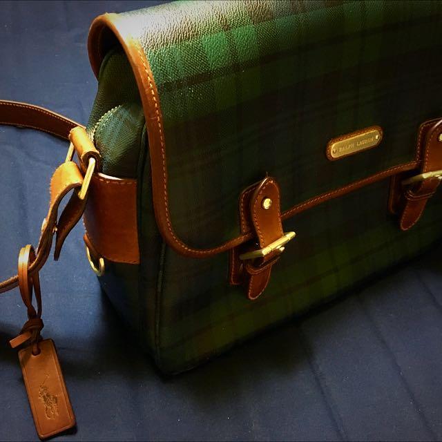 《降價》Ralph Lauren Polo 側背包 正品