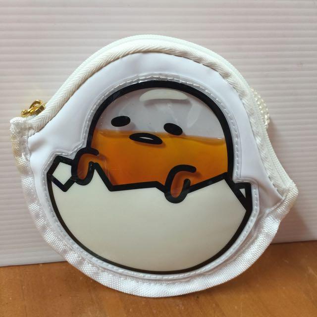 Sanrio 火紅蛋黃哥票卡夾全新自日本帶回