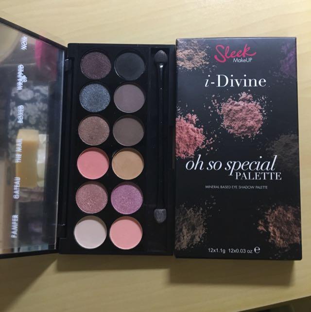 英國彩妝Sleek 12色眼影盤(oh So Special)