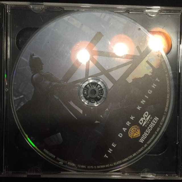 The Dark Knight DVD Two Discs Special Features