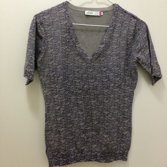 Brand New, Vintage Short Sleeves Knit