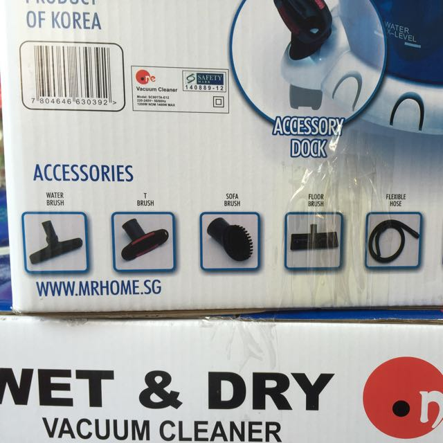 Wet & Dry Vacuum Cleaner ( Bag Less) BRAND NEW ONLY