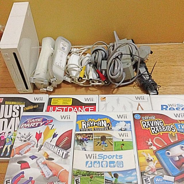 Wii Set(Wii Board Included)