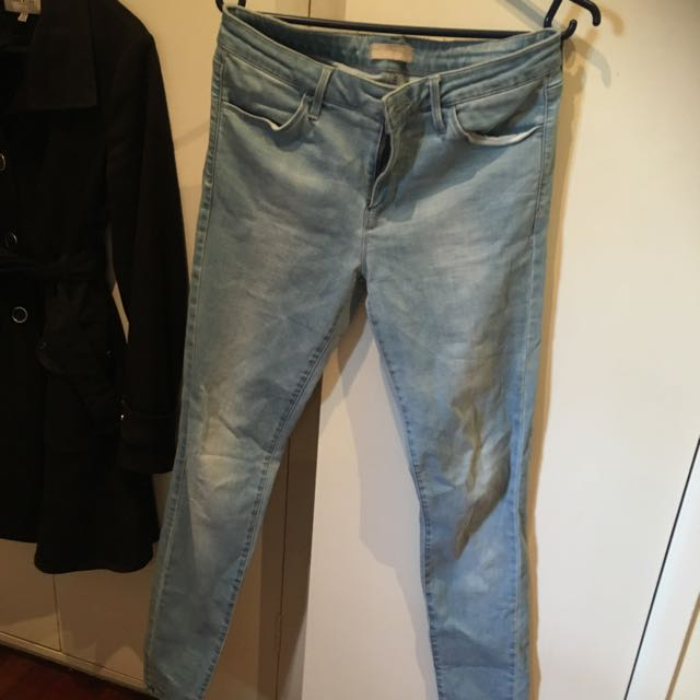 Worn Once! Size 27 Uniqlo Skinny Jeans