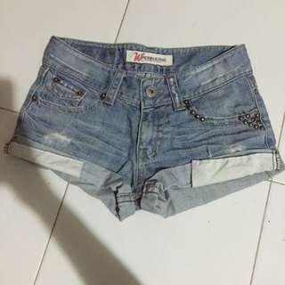 #PayDay30 Light Blue Denim Shorts