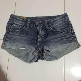 #PayDay30 Dark Blue Denim Shorts