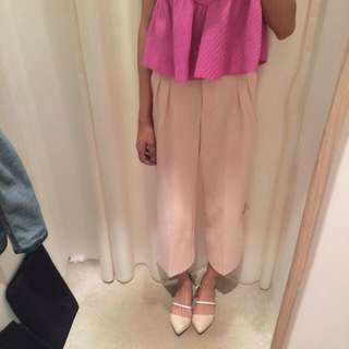 TEM Dusty Pink Culottes