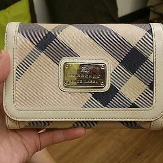 Authentic Burberry Blue Label Long Wallet Limited Edition (Pink)
