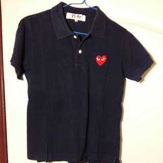 🚚 COMME des GARCONS PLAY Polo 衫M號
