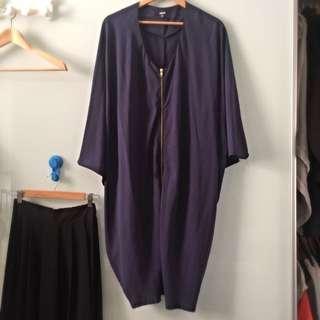 ASOS Navy Kimono Dress