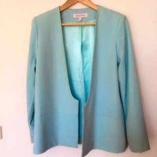 Finders Keepers Baby Blue Blazer Size 12