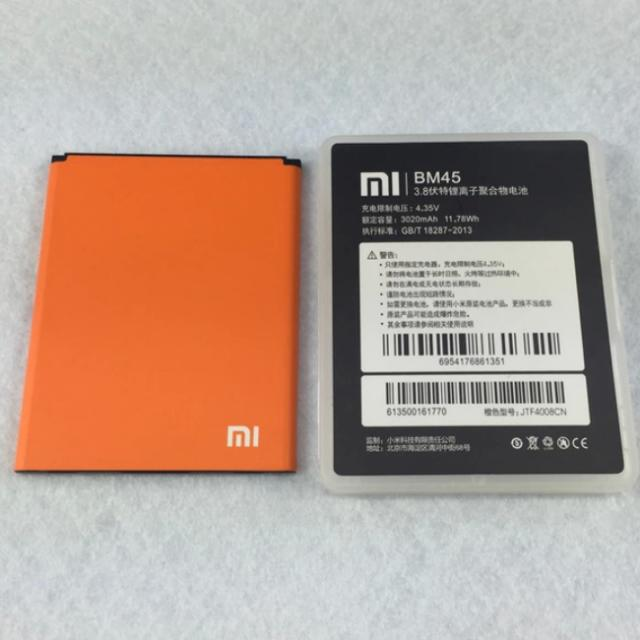 BN Original BM45 3.84V 3020mAh battery for Xiaomi Redmi Note 2, Electronics on Carousell