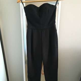 Jump Suit From Dotti Size 6(xs) Black