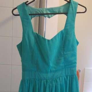 Green Heart Dress