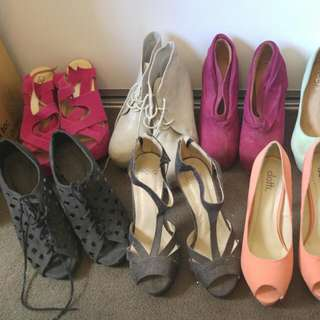 Heels And Wedges
