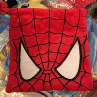 蜘蛛人 收納袋 束口袋 拍立得