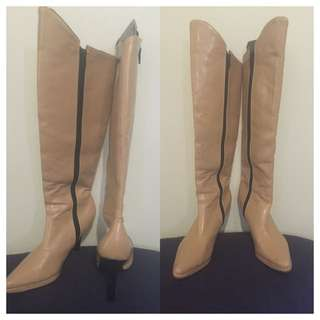 Stylish Beige Boots