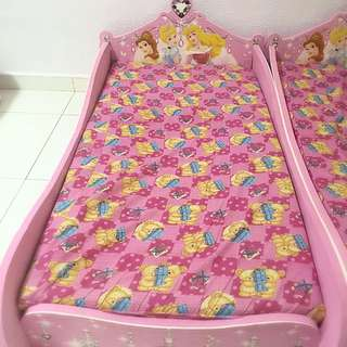 Kid's Bed Frame and Mattress