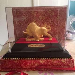 Bull Market 999% Gold Plated