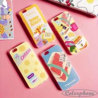 預🌼日式可愛食物手機殼