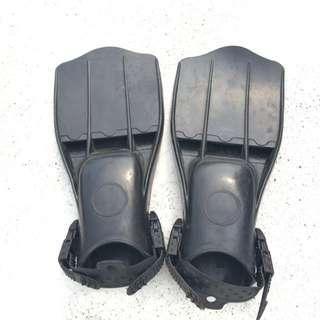 噴射型淺水蛙鞋