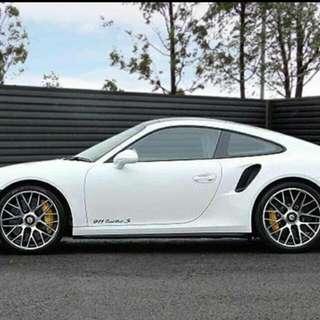 Porsche 911 Turbo S 3.8 Coupe 2014