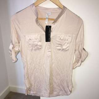 FOREVER NEW - Jersey Top - Size 10