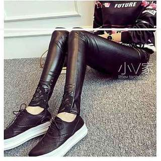 🆕 Black Leather Legging (New) (Ready Stock) [Marked Down Price]