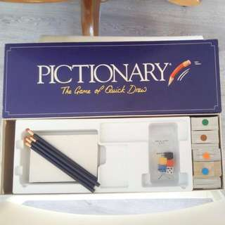 (Reduced Price) Pictionary - Self Collect