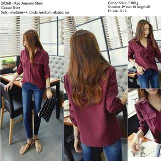 20268 Autumn Shirt
