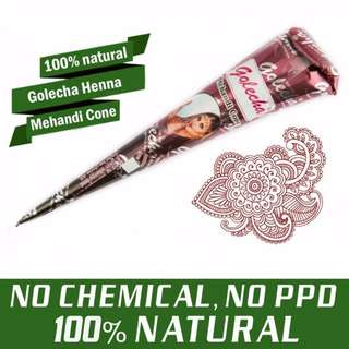 [AVAILABLE] 100% Natural Mehandi Cones (Not Instant)