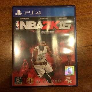 PS4 NBA 2K16中文版遊戲片