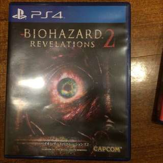 PS4 惡靈古堡遊戲片