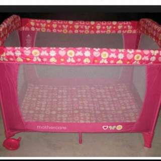 Mothercare Travel Cot/ Playpen