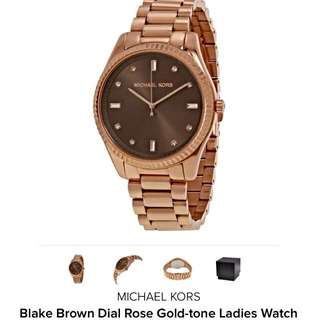 $208 ! 100% Authentic Micheal Kors Unisex Watch #MK 3227