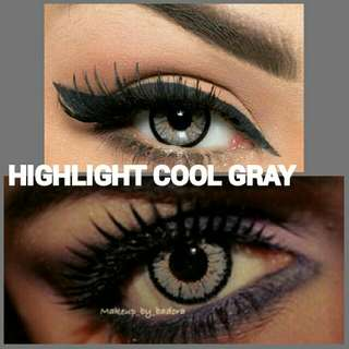 BELLA COLOR LENS | HIGH COOL GRAY