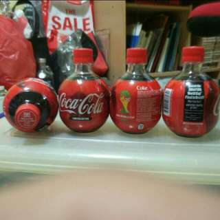 Limited edition 2014 FIFA world cup Coca Cola Bottles