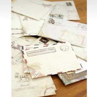復古風格💌小信封