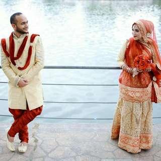 Rental : Bridal Sherwani and Lehenga (Bollywood   Wedding)